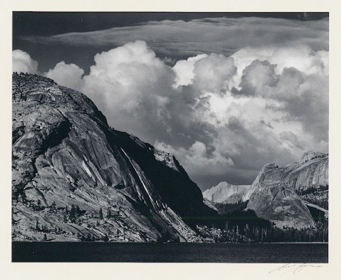 "S-0031, Ansel Adams, ""Lake Lenaya"", 1946"