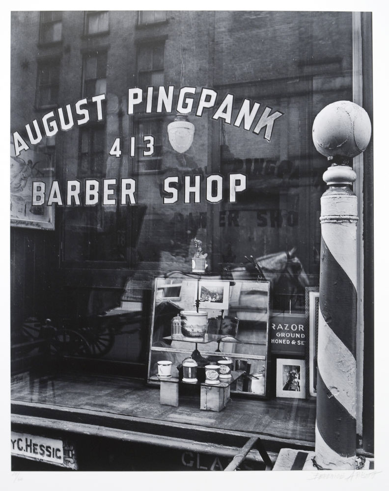 "S-0650, ""Pingbank Barber Shop"""