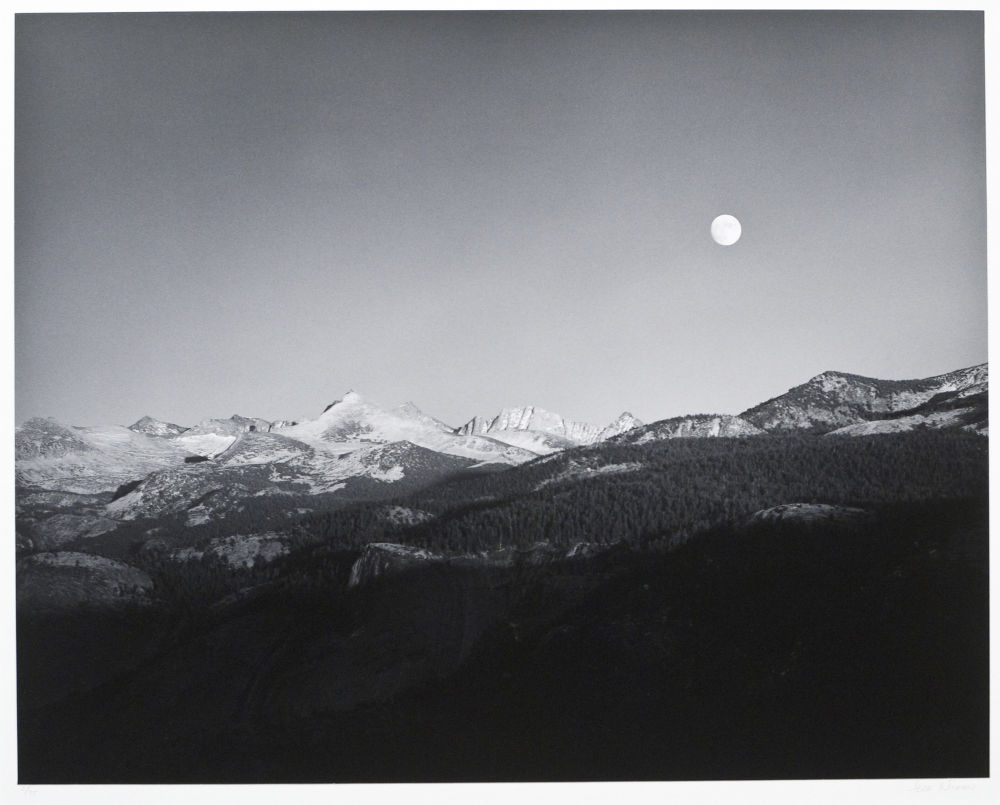 "S-0732, ""Moonrise, from Washburn Point"""