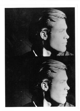 "S-0795, ""Superstar Paul Johnson in Andy Warhol's ,13 most beautiful boys' """