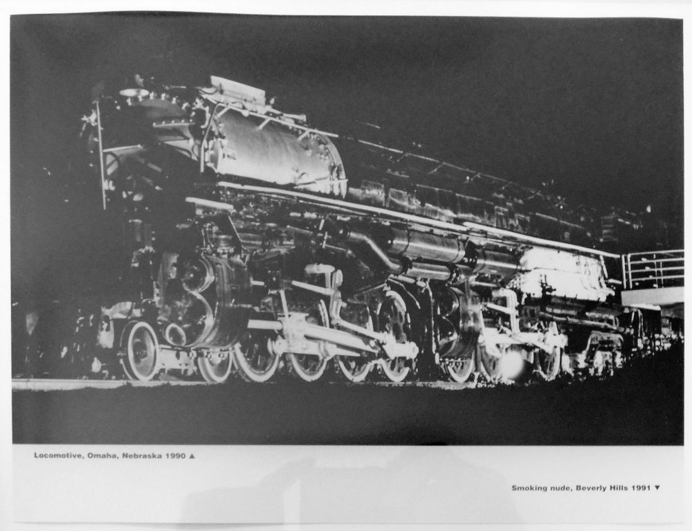 "S-1173, ""Locomotive, Omaha, Nebraska, 1990"""