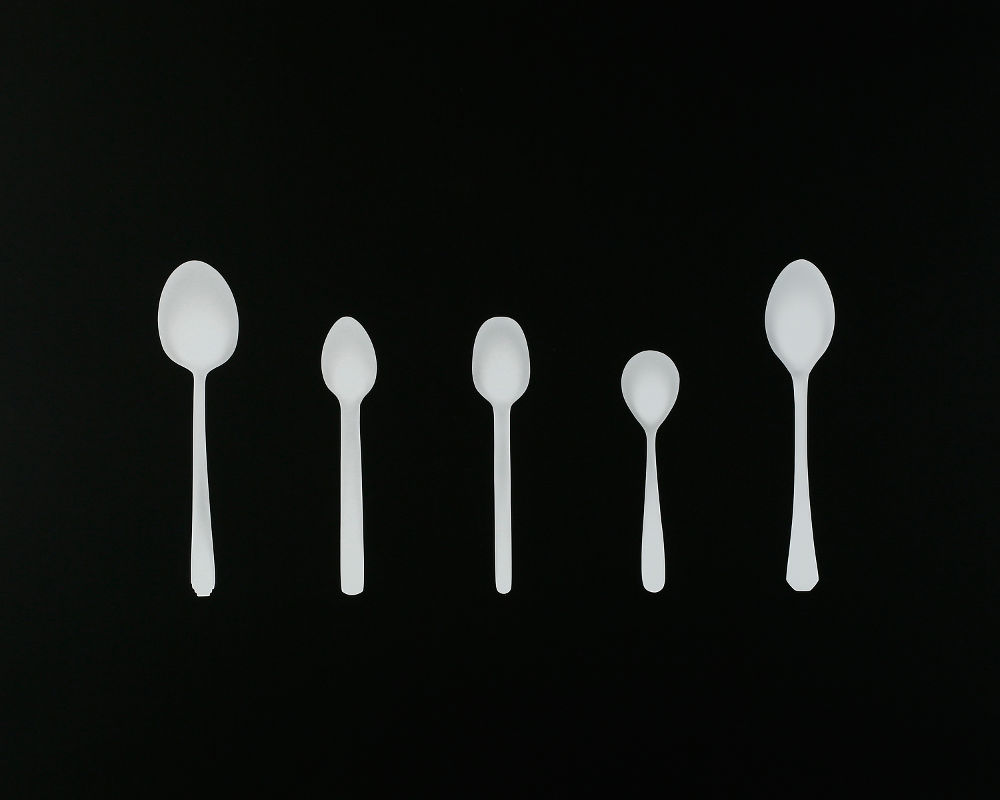 "S-1889, ""5 Airline Spoons"""