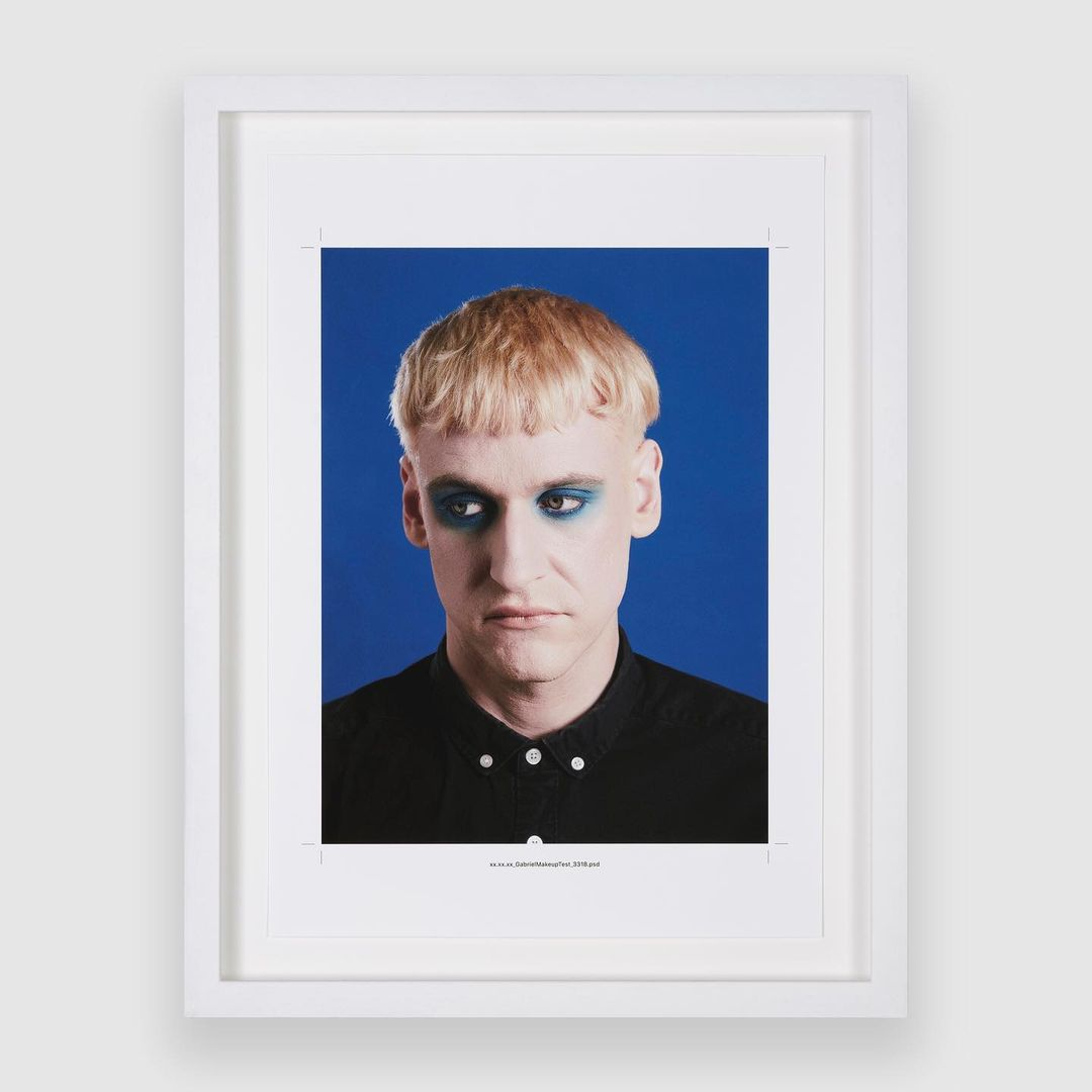 XX.XX.XX (Blue Screen Cosmetics Test for the Archangel Gabriel), 2019